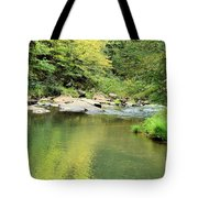 One Of Those Peaceful Places Tote Bag