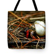 One Red Leg Tote Bag