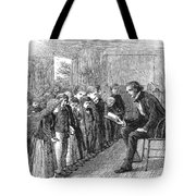 One-room Schoolhouse, 1874 Tote Bag by Granger