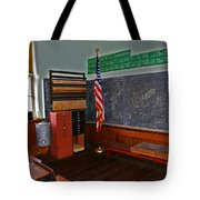 One Room Schoolhouse Tote Bag