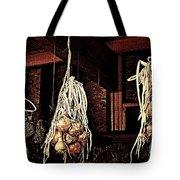 Onions Drying Tote Bag