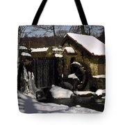 Only In Silence Tote Bag