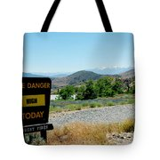 Only You Can Prevent Wildfires Tote Bag