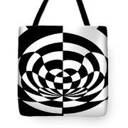 Op Art 2 Tote Bag by Methune Hively