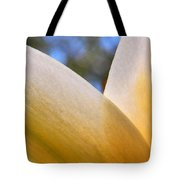 Opaque Yellow Tote Bag