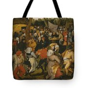Open Air Wedding Dance Tote Bag by Pieter the Younger Brueghel