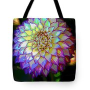Open For Pleasure Flowart Tote Bag