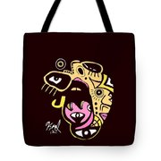 Open Wide Full Color Tote Bag