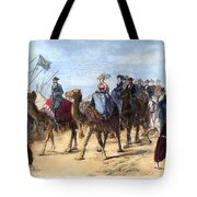 Opening Of The Suez Canal Tote Bag