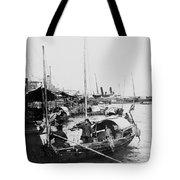 Opium Trader - Hong Kong Harbor - C 1901 Tote Bag
