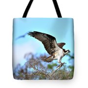 Opsrey Spreading It's Wings Tote Bag