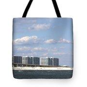 Orange Beach Tote Bag