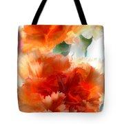 Orange Carnations Tote Bag