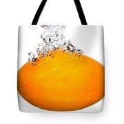 Orange Drop Tote Bag