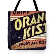 Orange Kist Tote Bag