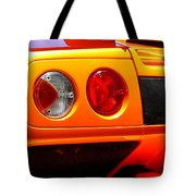 Orange Lamborghinni  Tote Bag