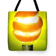 Orange Lamp Tote Bag