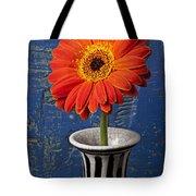 Orange Mum Tote Bag by Garry Gay