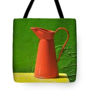 Orange Pitcher Tote Bag