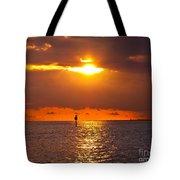 Orange Sky Tote Bag