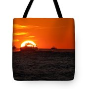 Orange Sunset IIi Tote Bag