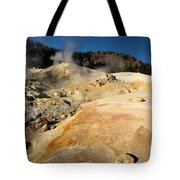 Orange Thermal Crust Tote Bag