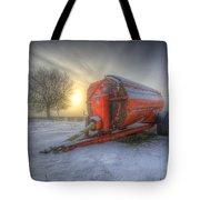 Orange Trailer Tote Bag