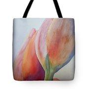 Orange Tulips I Tote Bag