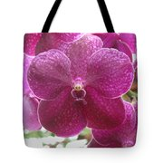 Orchid Cluster Tote Bag