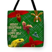 Orchid Gardens Tote Bag