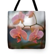 Orchid Gathering Tote Bag