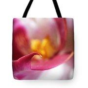 Orchid Leaf Tote Bag