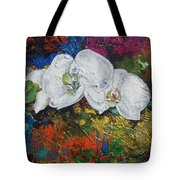 Orchid Mini Tote Bag