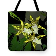 Orchid Trilogy Tote Bag