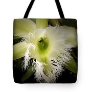 Orchid With Feathery Ends Tote Bag
