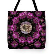 Orchids And Fantasy Flowers Tote Bag