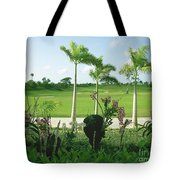 Orchids At Iberostar Golf Course In Punta Cana Dr Tote Bag