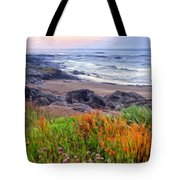 Oregon Coast Wildflowers Tote Bag