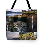 Oregon Collage From Sept 11 Pics Tote Bag
