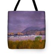 Oregon Seascape Tote Bag