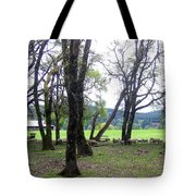 Oregon Sheep Farm Tote Bag