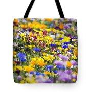 Oregon Wildflowers Tote Bag
