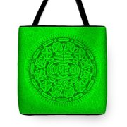 Oreo In Green Tote Bag