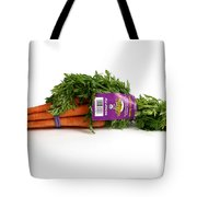 Organic Carrots Tote Bag