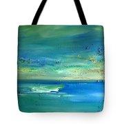 Organic Seascape Tote Bag