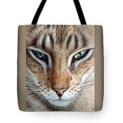 Oriental Cat Tote Bag