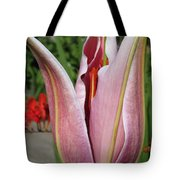 Oriental Lily Named La Mancha Tote Bag
