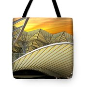 Oriente Station Tote Bag by Carlos Caetano