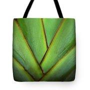 Ornamental Palm Detail Tote Bag