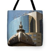 Ornate Old And Plain New Tote Bag